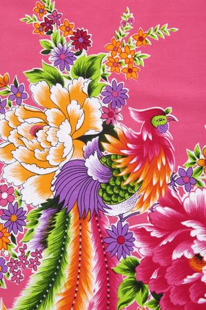 Traditional Chinese fabric sample Stock Photo - 6002713