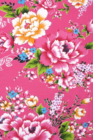 traditions: Traditional Chinese fabric sample Stock Photo