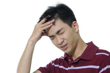Lässige asian junge Mann besorgt Standard-Bild - 11060682
