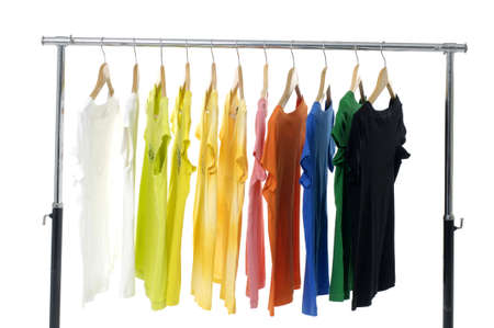 colored Tee Shirts display photo