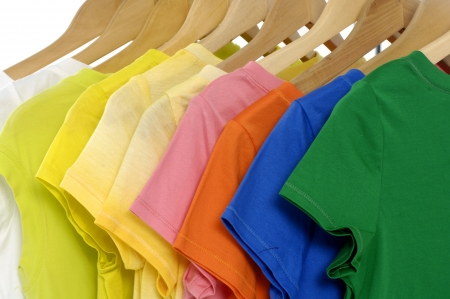 t-shirts hanging Stock Photo - 11080747