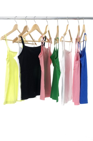 peignoir: bright colored colorful peignoir hanging