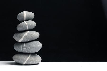 Stones pile Stock Photo