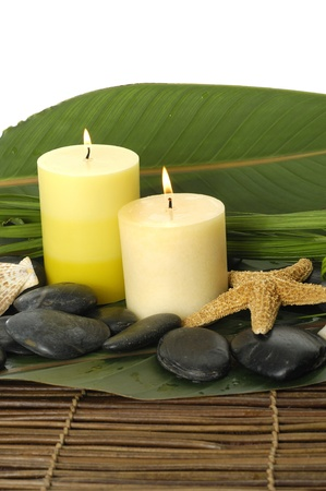 mat like: Zen like spa with candles on mat