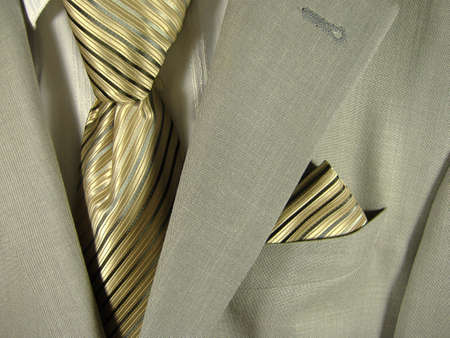 element of the business suit Stock Photo