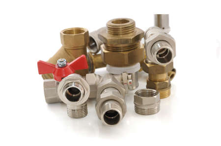 crane parts: Various metal parts for plumbing and sanitary ware