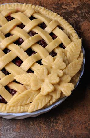 elevenses: how to beautify decorative pie dough
