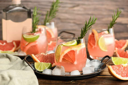 Fresh lime and rosemary combined with fresh grapefruit juice and tequila are the perfect way to get the most out of these amazing products.