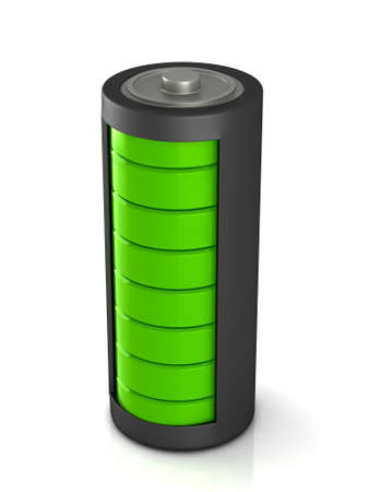 Battery load icon on a white background 版權商用圖片 - 51747967