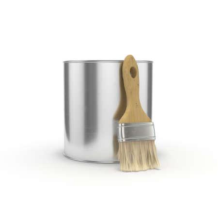 3D rendering capacity with paint for repair