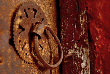 keylock: keylock from an old door Stock Photo