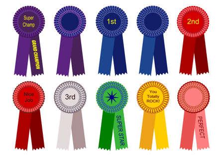 Award Ribbons Stok Fotoğraf - 7393170