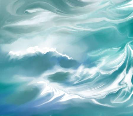 smeary: Water Background Illustration Stock Photo