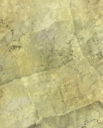 pale cream: old looking parchment illustration