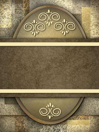 elegant brown background with copy space Standard-Bild
