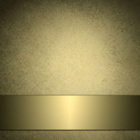 fondo elegante: fondo de oro de la vendimia con dise�o brillante cinta de oro