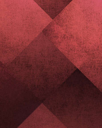red background with abstract design Stock Photo - 10566698