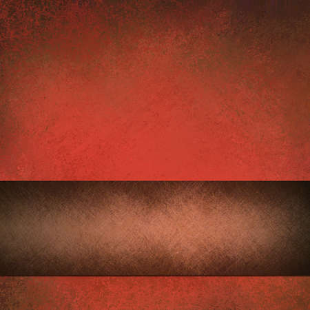 rustic: red and brown background
