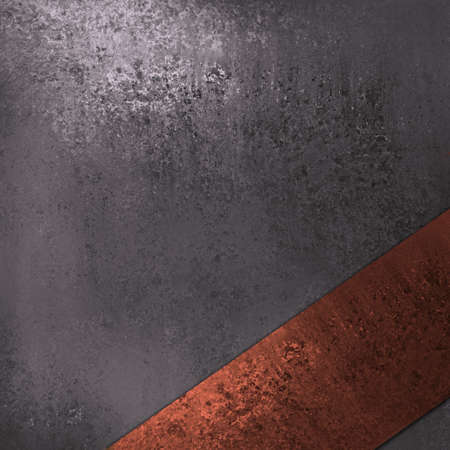 grey silver background with red ribbon