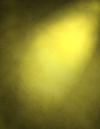 the shaft: warm, sunny background spotlight on yellow background