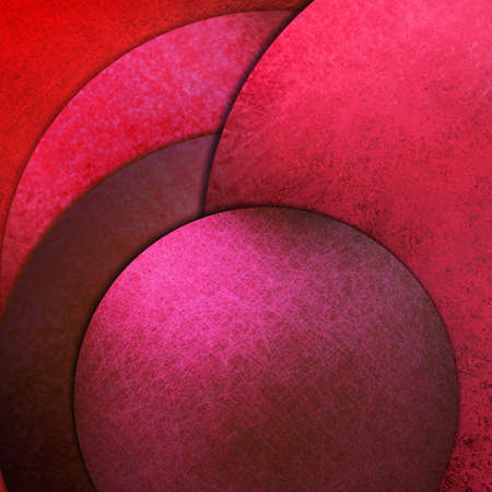 contemporary: abstract pink circle background paper with grunge texture Stock Photo