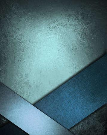 Zusammenfassung blauem Hintergrund mit Schleife Design-Element Standard-Bild - 11153778