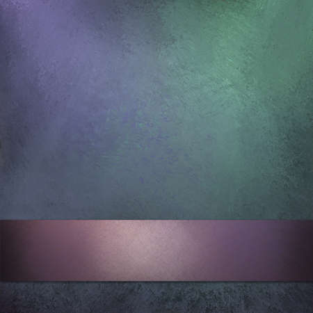 dark pastel green: pastel background with purple ribbon and vintage grunge texture