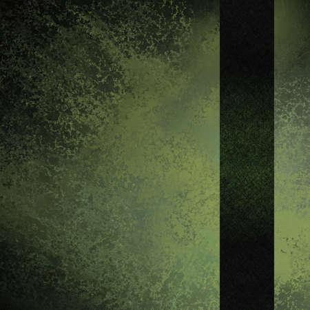 abstract vintage grunge texture green background with dark ribbon Stock Photo - 11331086