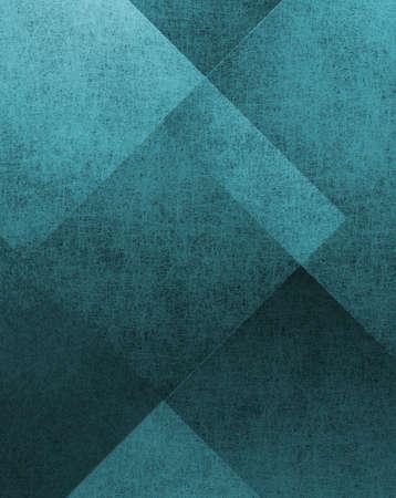fondo elegante: fondo abstracto azul con dise�os grunge del vintage Foto de archivo