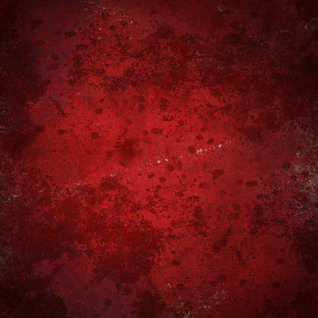 Red stained vintage grunge background photo
