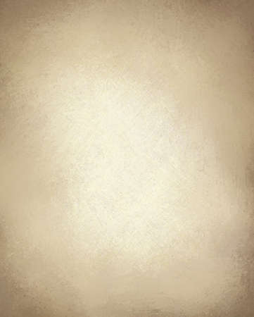 beige or light brown paper background with vintage grunge texture and highlight and old parchment look with copy space