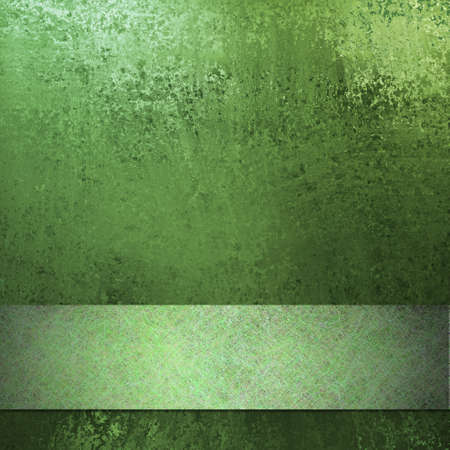spring green Easter background with vintage grunge texture and scratch design ribbon stripe layout design on border of frame with copy space for text or St. Patrick photo