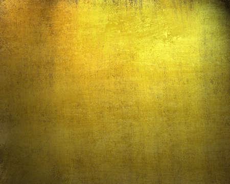 mooie gouden achtergrond met donkere vintage grunge textuur en verlichting van zwarte vignet frame op grens van canvas met verweerde vlekken strepen op behang illustratie ontwerp voor verjaardag