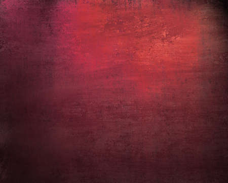beautiful pink red background with dark vintage grunge texture and lighting of black vignette frame on border of canvas and distressed stain streaks on wallpaper illustration design for graffiti art Stock Illustration - 12252761