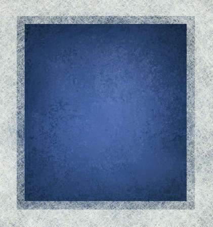 blue background with white parchment frame on border with vintage grunge texture and faded soft lighting with copy space for Independence Day on July 4th Stock Photo - 12252773