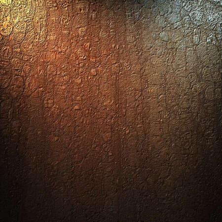 crackle: brown background with abstract vintage grunge crackle texture and soft corner lighting with dark black vignette shadows on border of frame