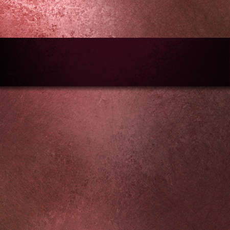 pale pink background with dark black and burgundy ribbon  Stock Photo - 12252778