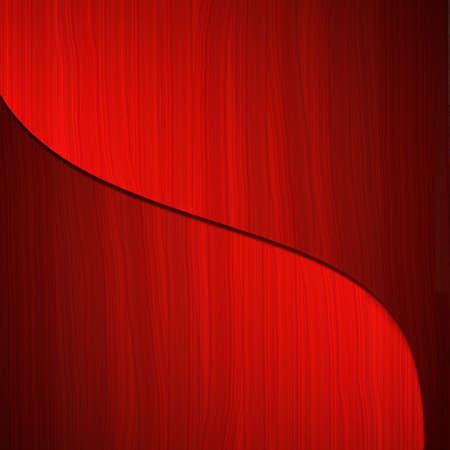 abstracte rode achtergrond met sierlijke rondingen en paletmes verf textuur met kunstzinnige creatieve stijl Stockfoto