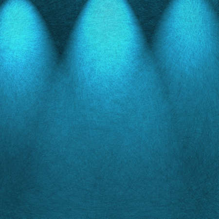 limelight: blue theater stage spotlight abstract background