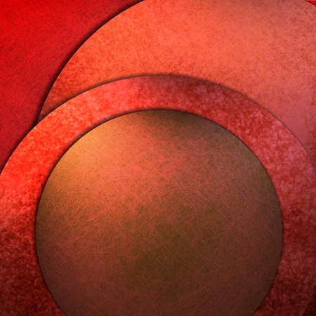 art contemporary: red abstract background with graphic art design layout, circles, texture, lighting, and copy space to add your own text, title, image, or photo