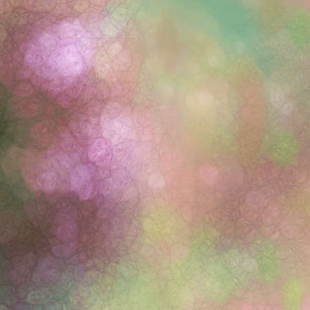 soft bokeh light background in soft light pink and green texture  photo