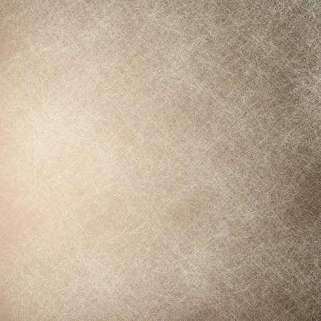 白と茶色の背景羊皮紙 写真素材
