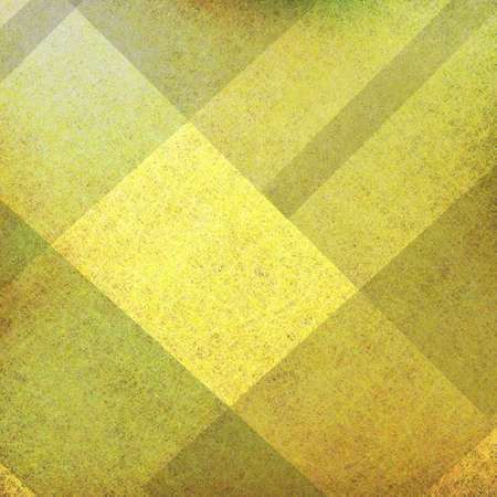 yellow and black background with parchment grunge texture in abstract block plaid design layout  photo