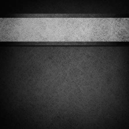 fondo elegante: blanco y negro de dise�o en blanco y negro de fondo, dise�o, ilustraci�n withgray pergamino cinta de rayas y bordes oscuros en la frontera de papel Foto de archivo