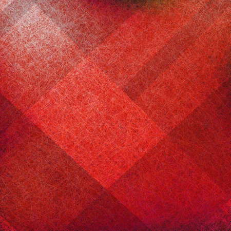 red and black background with parchment grunge texture in abstract block plaid design layout  photo