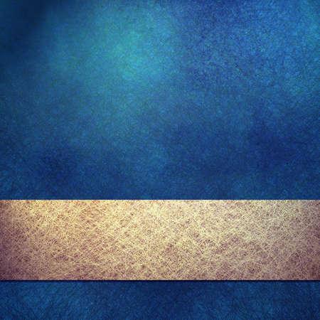 fondo elegante: elegante fondo azul con textura de grunge y espacio de la copia Foto de archivo