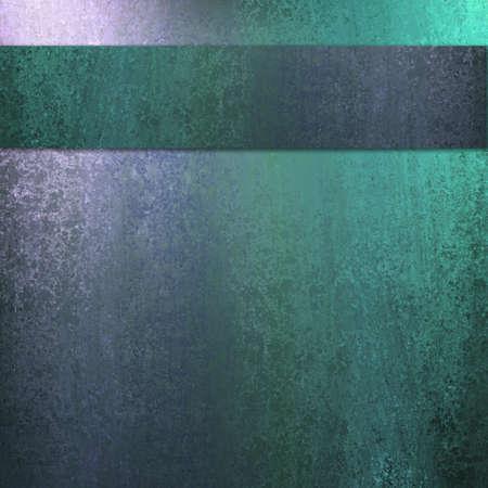 blauw en groen abstracte achtergrond met verlichting en spons structuur met donkere lint streep lay-out ontwerp en copyspace de advertentie of brochure tekst