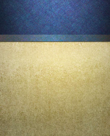 elegant formal blue and cream background  Standard-Bild