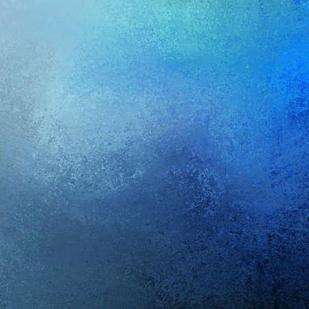 artsy blauwe verf achtergrond illustratie met donkere en lichte contrasterende kleur