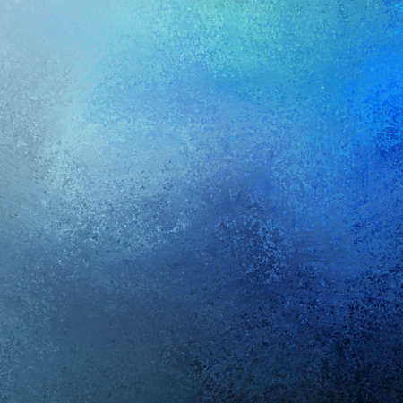 artsy blue paint background illustration with dark and light contrast color